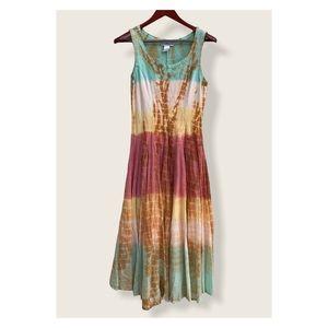 The Pyramid Collection Tye Dye Dress S